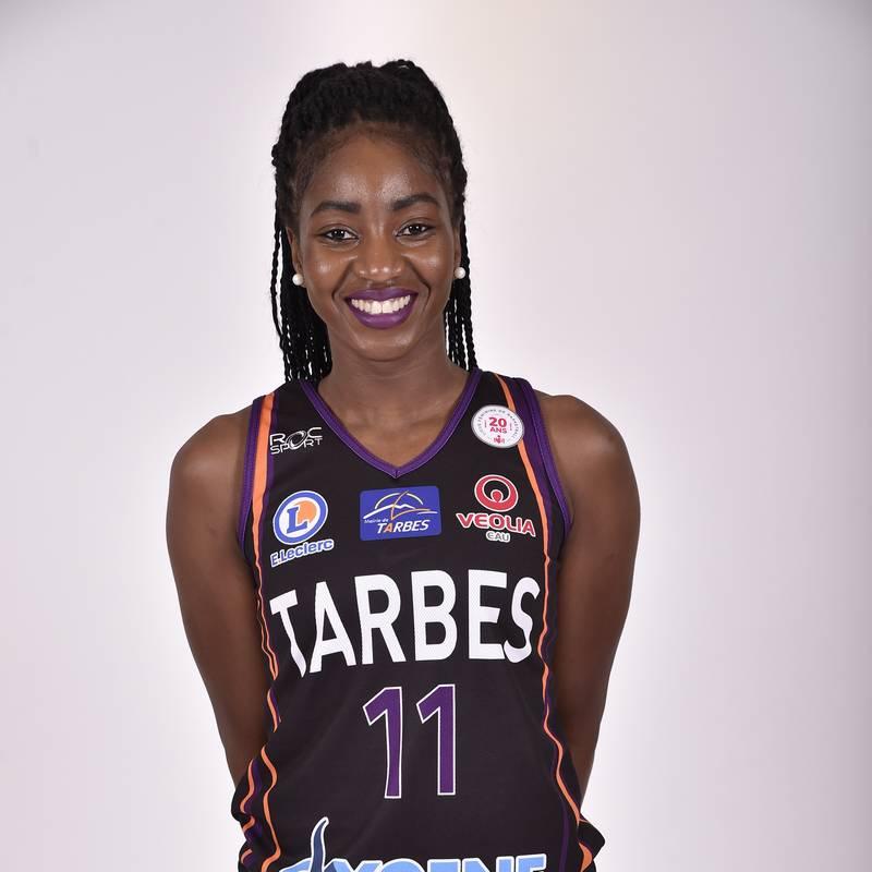 Adja Konteh, joueuse du TGB