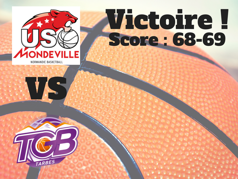 Mondeville-TGB : la victoire à un point