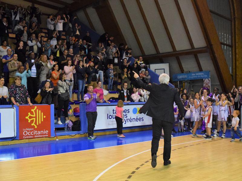 François Gomez et les supporters du TGB