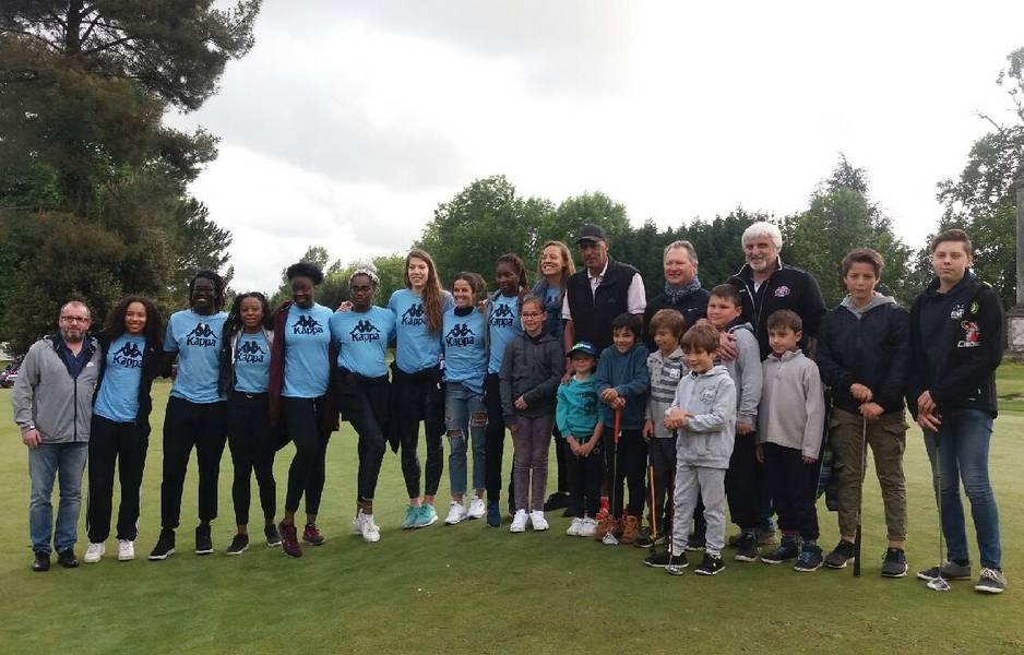 Les joueuses du TGB au golf des Tumulus