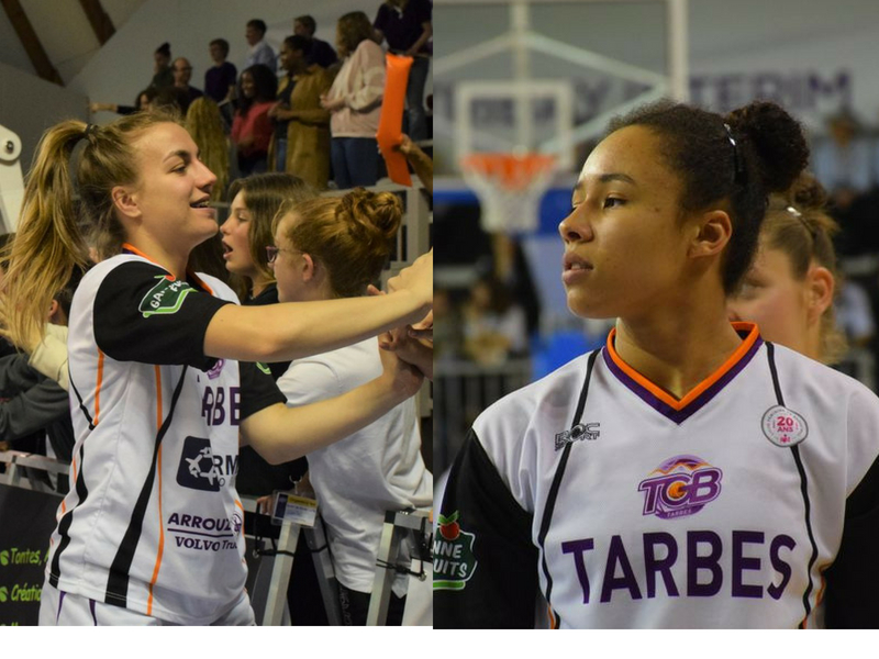 Clarisse Sahun et Tima Pouye