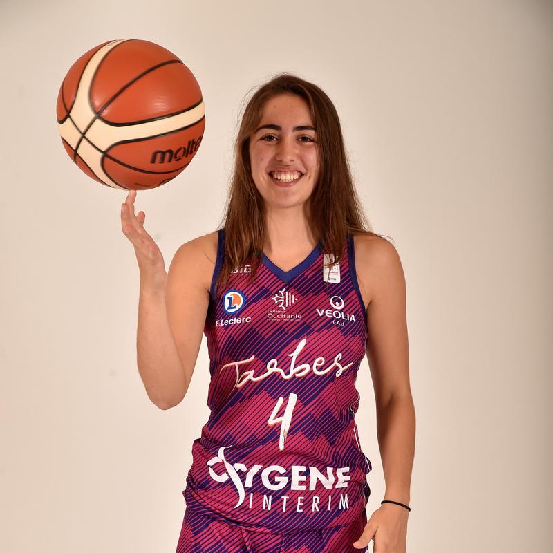 Marine Fauthoux, joueuse du TGB