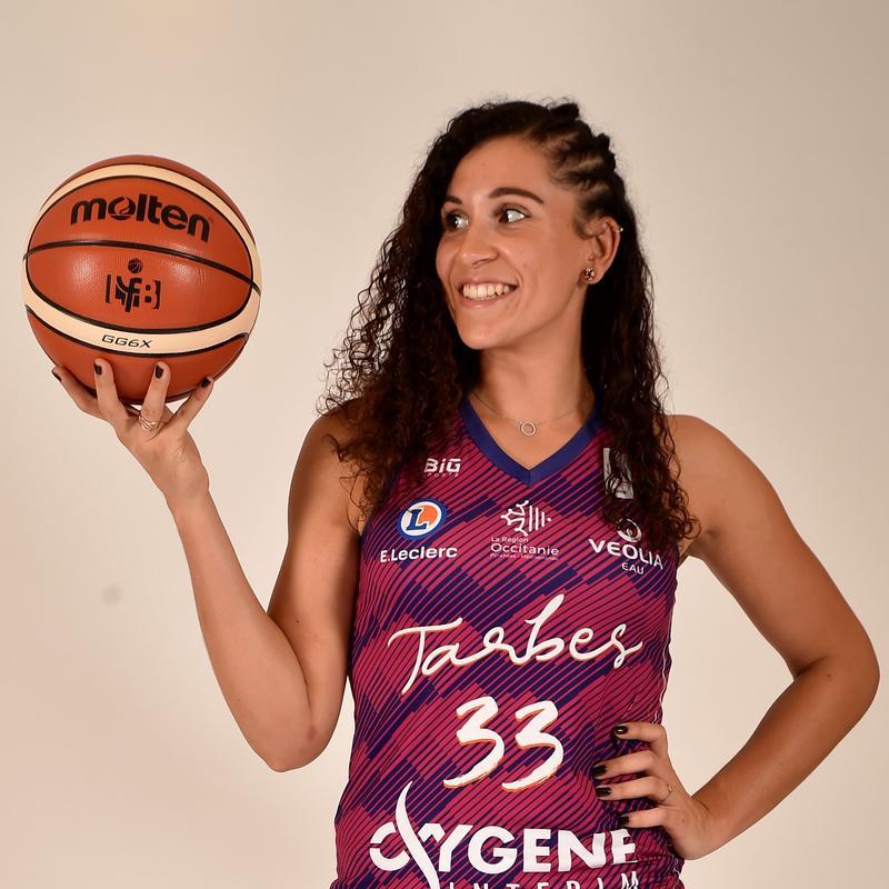 Margaux Galliou-Loko, joueuse du TGB