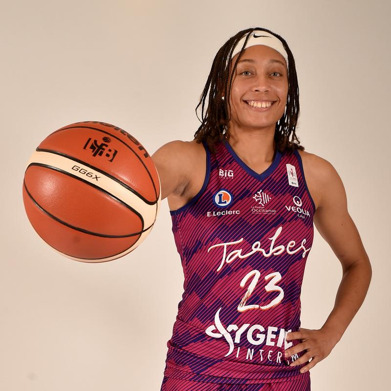 Alexis Prince, joueuse du TGB