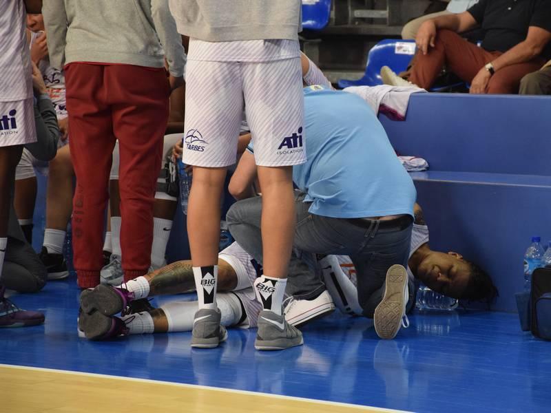 Dandra Moss, joueuse du TGB, blessée face à Charleville-Mézières