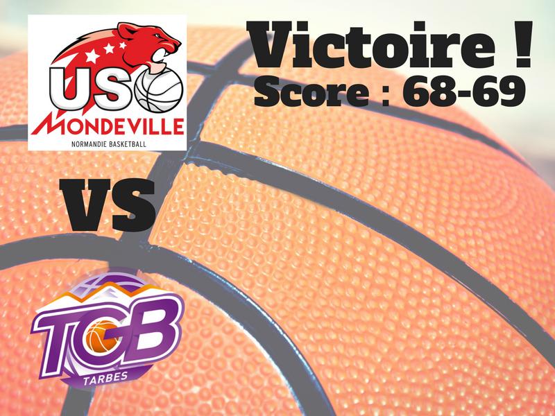 Visuel victoire Mondeville TGB