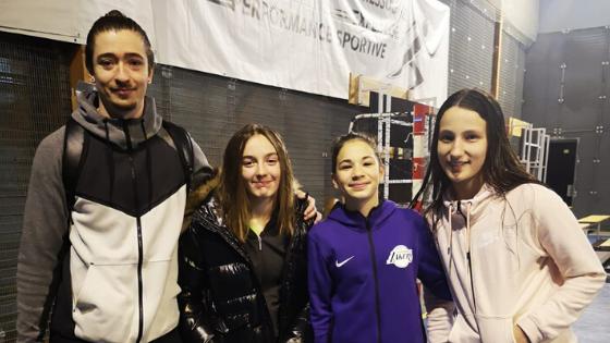 Lally, Pauline et Célia au TIC de Salies!