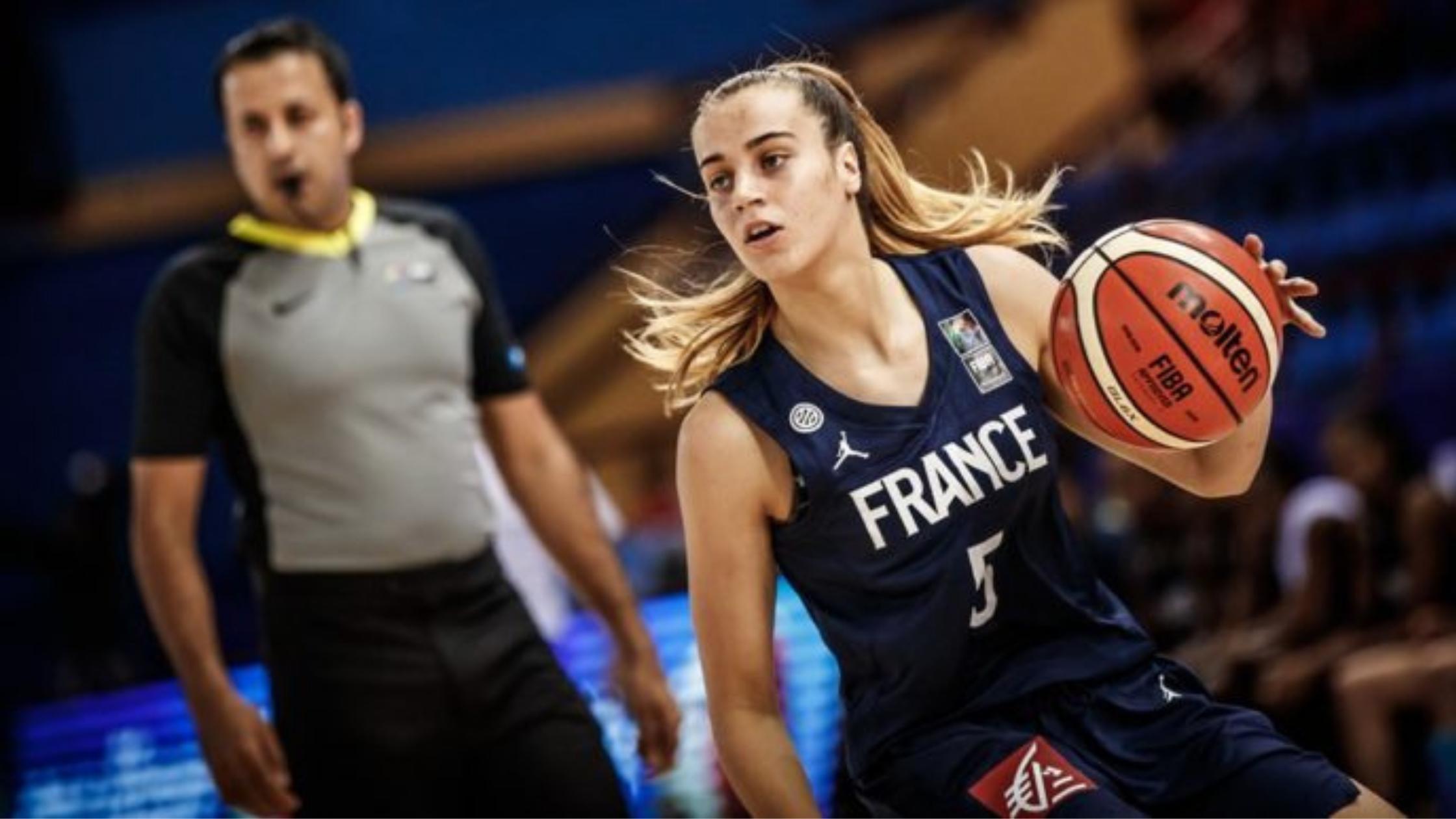 Marie Pardon en Equipe de France U20