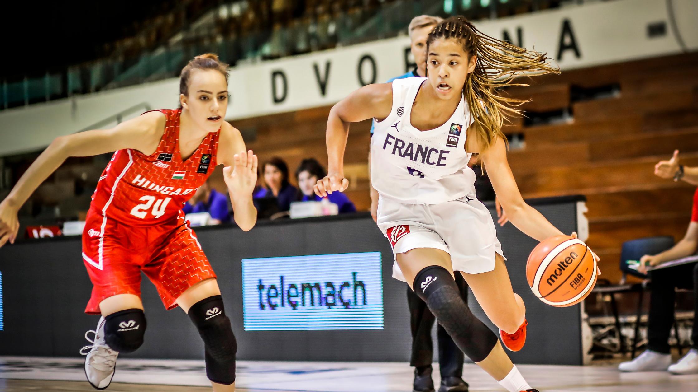 Séréna Kessler en Equipe de France U19
