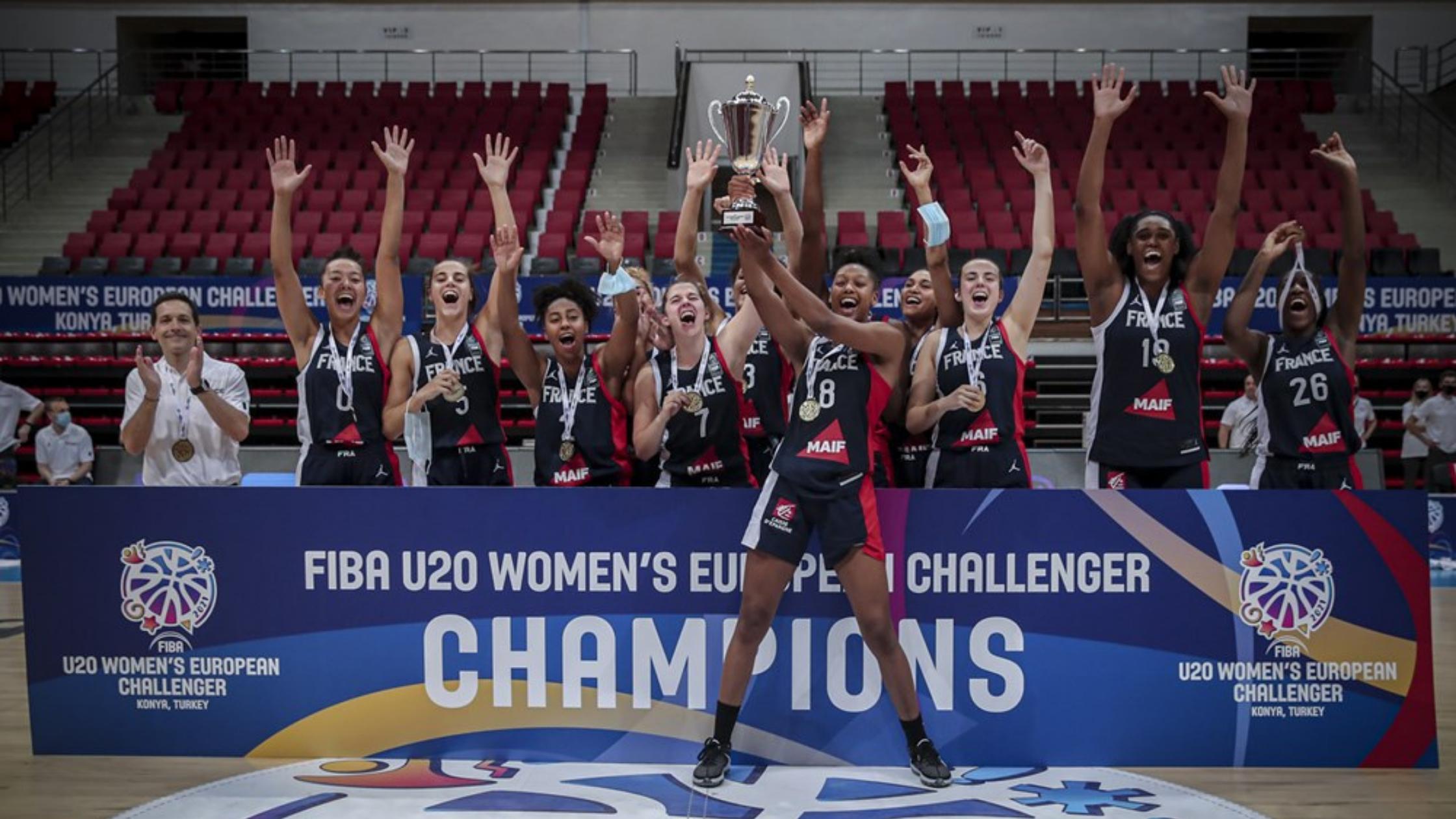 L'équipe de France U20 gagne le challenge