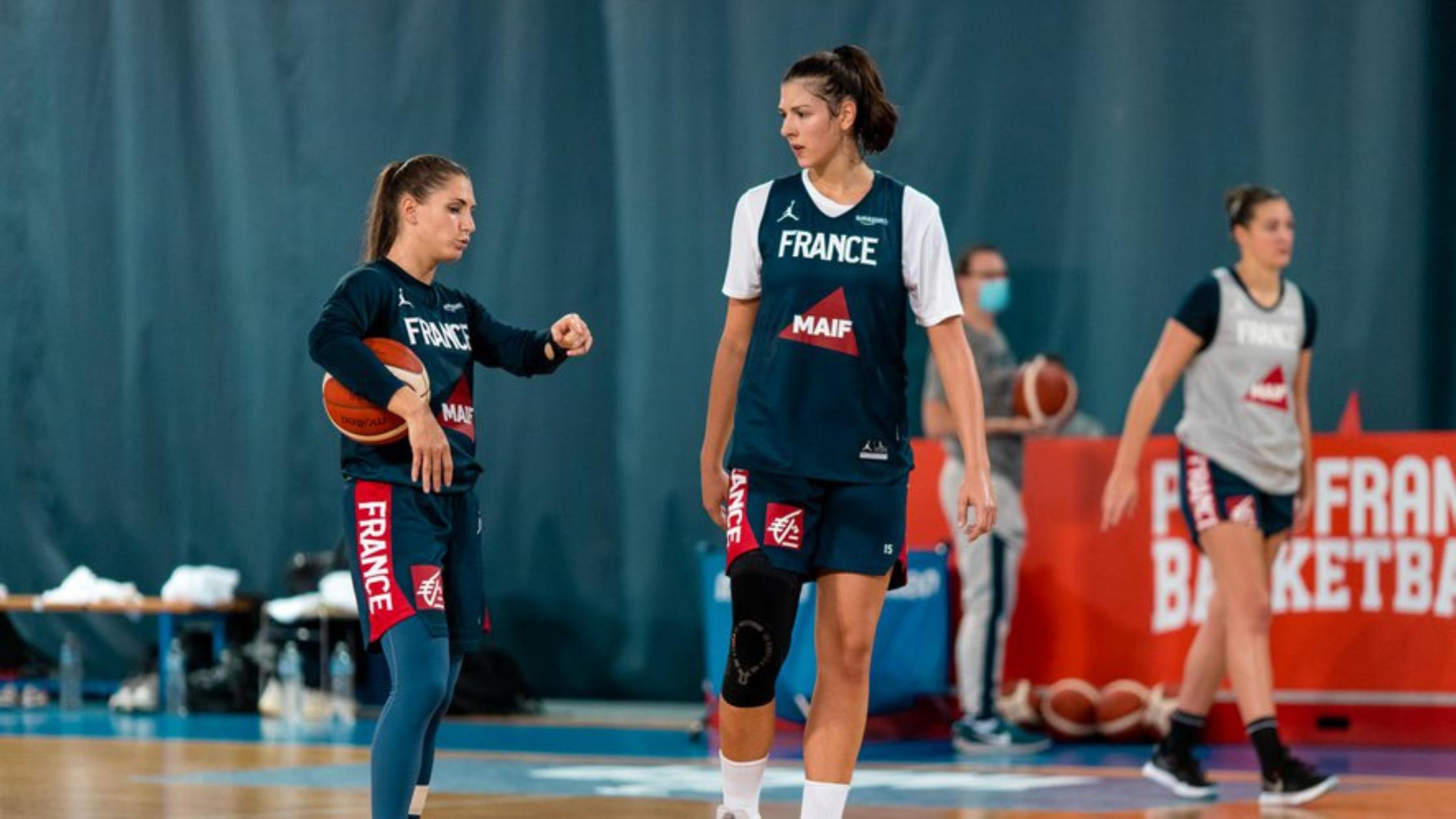 Ana Tadic en équipe de France pour Tokyo